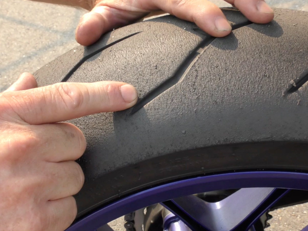 Contact Patch: Rebound Tire Wear