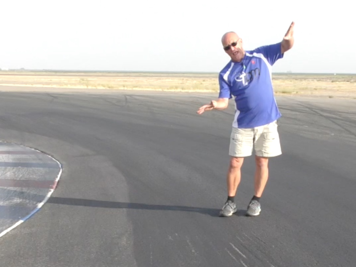 Navigating A 90˚ On Camber Corner