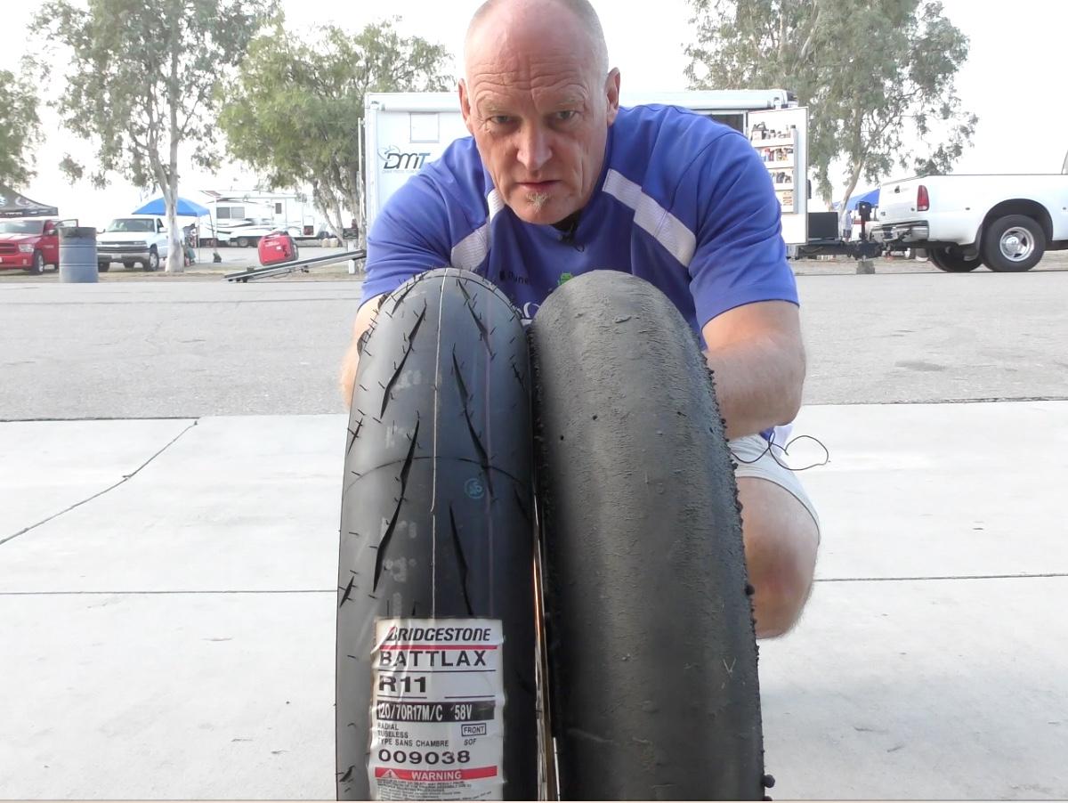 Tire Testing: Bridgestone R11
