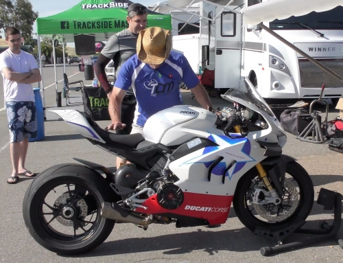 2 Clicks Out: Panigale V4R Suspension Setup