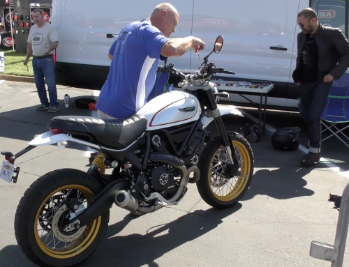 2 Clicks Out: Ducati Desert Sled Suspension Setup