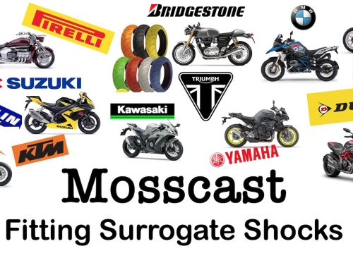 Mosscast: Fitting A Surrogate Motorcycle Shock
