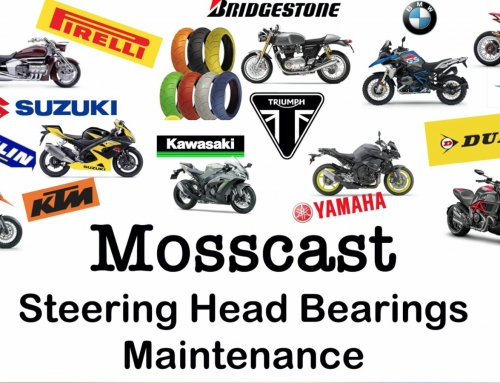 Mosscast: Servicing Motorcycle Steering Head Bearings