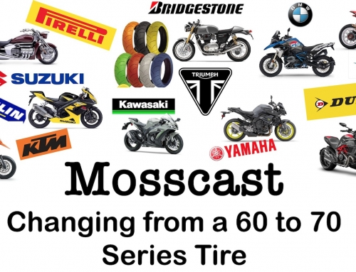 Mosscast: Changing from a 60 to 70 series front tire