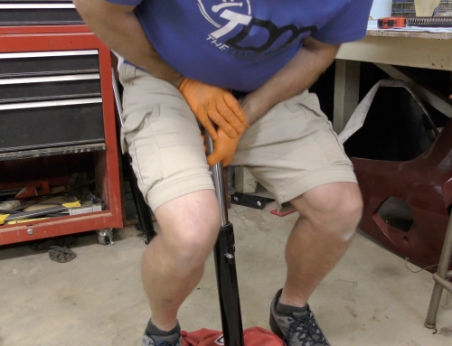 Hydrolocking Motorcycle Forks