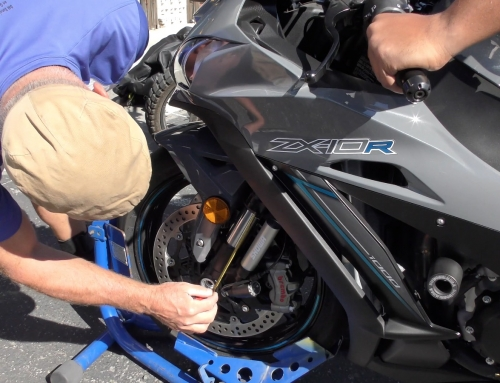 2 Clicks Out: ZX-10R Street vs Track Suspension Setup