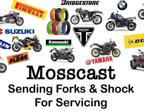 Mosscast: Sending Motorcycle Forks & Shock For Servicing