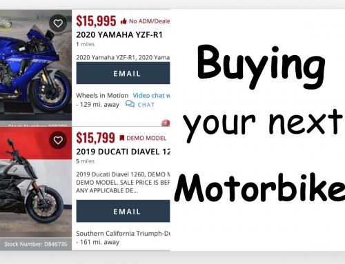 Your Next Motorcycle: Buying It
