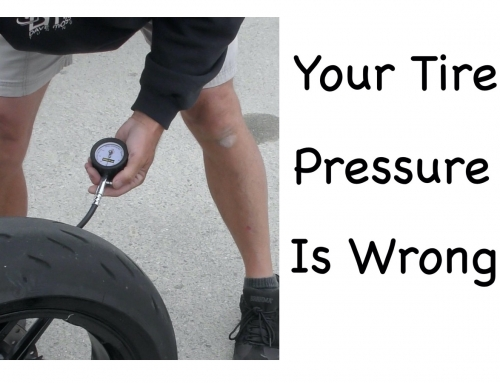 Contact Patch: Recommended Motorcycle Tire Pressures are Wrong
