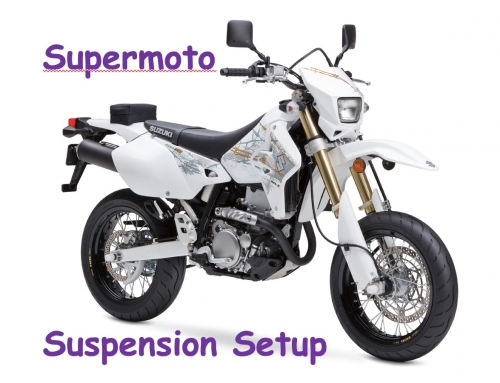 2 Clicks Out: Suzuki DR-Z400SM Supermoto Suspension Setup