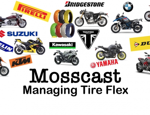 Mosscast: Managing Motorcycle Tire Flex