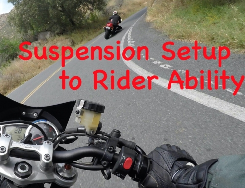 Motorcycle Suspension Tuning to Rider Ability