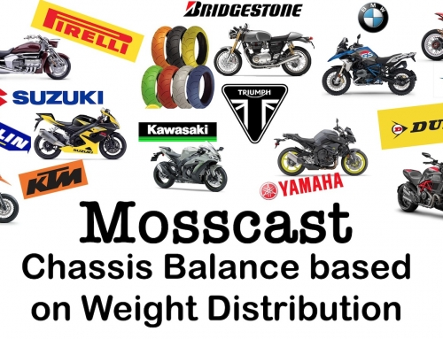 Mosscast: Motorcycle Chassis Balance based on Weight Distribution