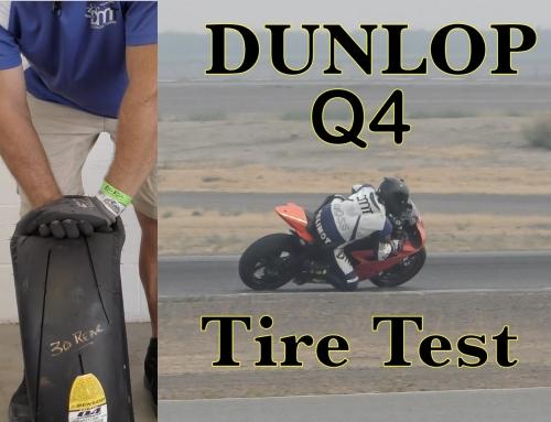 Contact Patch: Dunlop Sportmax Q4 Tire Test