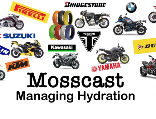 Mosscast: Managing Hydration While Motorcycling
