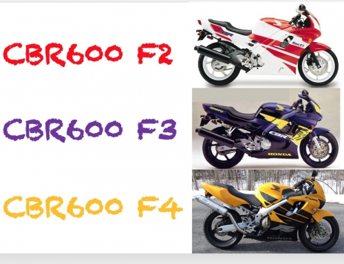 2 Clicks Out: CBR600 F2 F3 F4 Suspension Setups