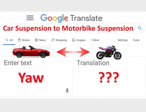 Tuning Motorcycle Suspension in Car Suspension Language