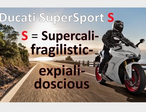 2 Clicks Out: Ducati SuperSport S suspension setups
