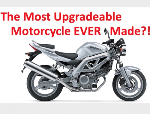 2 Clicks Out: Suzuki SV650 Gen 2 Suspension Upgrade Levels