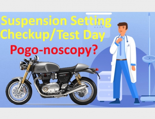 Motorcycle Suspension Setting Checkup & Test Day