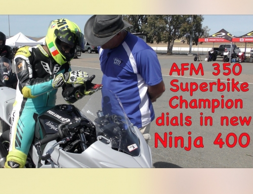 2 Clicks Out: AFM 350 SBK Champion's New Bike Setup
