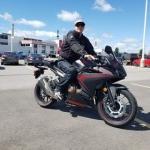Jeremy Payne, Canada CBR500R