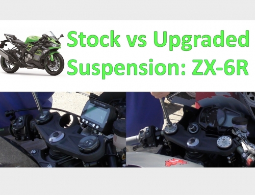 2 Clicks Out: ZX-6R Stock vs Upgraded Suspension Setups