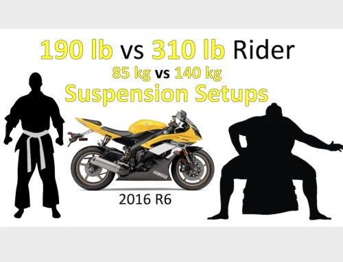 2 Clicks Out: 190 vs 310 pound Rider (85 to 140 kg) Suspension Setup