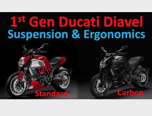 2 Clicks Out: 1st Gen Ducati Diavel Suspension & Ergonomics
