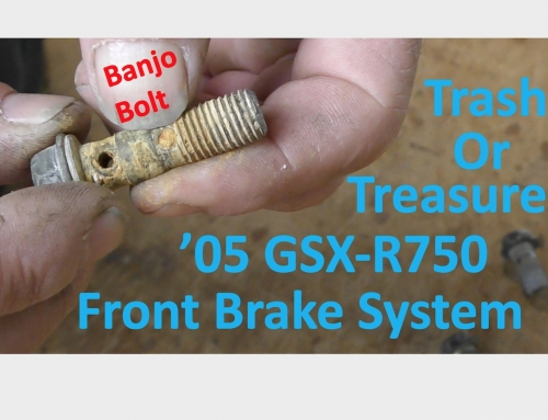 Trash or Treasure: '05 GSX-R750 Front Brake System Install