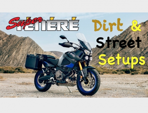 2 Clicks Out: Super Tenere Dirt & Street Suspension Setups