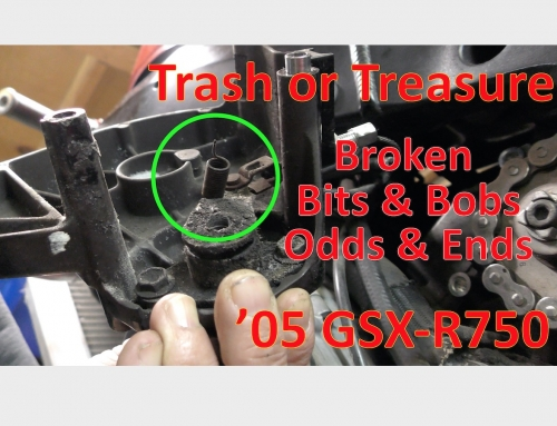 Trash or Treasure: '05 GSX-R750 Bits & Bobs, Odds & Ends