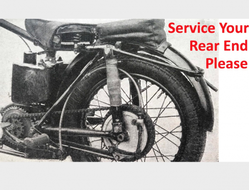 Annual Motorcycle Maintenance: Rear Wheel, Chain & Sprocket, Linkage