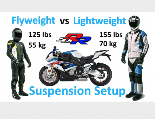 2 Clicks Out: S1000RR Flyweight vs Lightweight Rider Suspension Setup