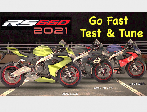 Test & Tune: 2021 Aprilia RS 660 at the Limit