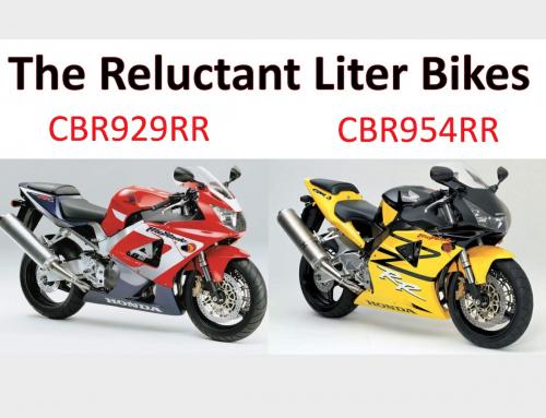 2 Clicks Out: CBR929RR & CBR954RR Suspension Setups
