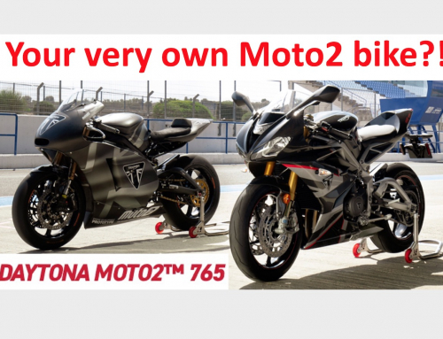 2 Clicks Out: Triumph Daytona Moto2 765 Suspension Setup