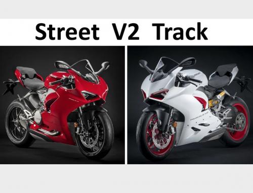 Clicks Out: Ducati V2 Street vs Track Suspension Setups