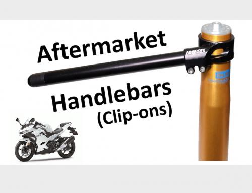 Aftermarket Handlebars / Clip-Ons: Ninja 400 Project Ep 4